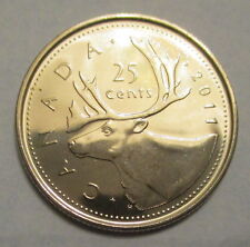 2011 CANADA 25 CENTS PROOF-LIKE QUARTER COIN