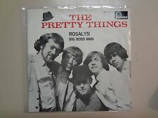 "PRETTY THINGS:Rosalyn-Big Boss Man 2:38-Holland 7""64 Fontana 278 710 YF Mono PSL"