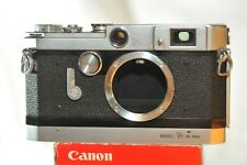Canon Rangefinder VT De Luxe 35mm RF camera body from 50's check it out
