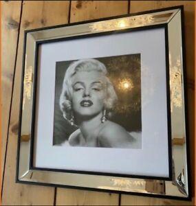 Neu! G&C Interior Marilyn Monroe Bild +Spiegel Bilderrahmen Geburtstagsgeschenk