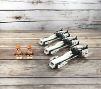 LEGO Star Wars Clone Trooper Battle Pack 7913 NO INSTRUCTIONS Retired Lot of 3