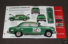 1950 FORD CUSTOM TUDOR Car SPEC SHEET BROCHURE PHOTO BOOKLET