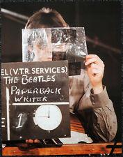 THE BEATLES POSTER PAGE . 1966 PAUL MCCARTNEY PAPERBACK WRITER PROMO . V25
