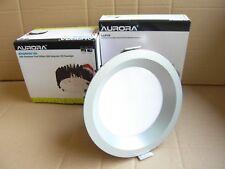 Aurora 30w Ceiling / Down Light. Warm White. Satin Silver.