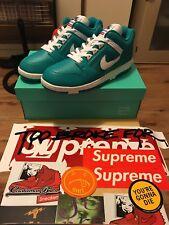 Supreme X Nike AF2 basso SMERALDO BLU