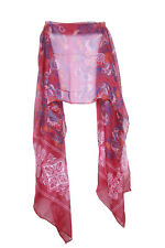 Rosewood Pink Ladies Tribal Pattern Floral Aztec Infused Hippy Scarf (S2)