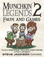 Munchkin Legends 2 Faun and Games by Steve Jackson Games.