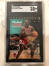 1992-93 SkyBox Michael Jordan SGC 10 #31 Basketball Card
