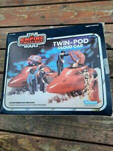 Vintage Star Wars Empire Strikes Back Twin Pod Cloud Car Unused 1980 Kenner esb
