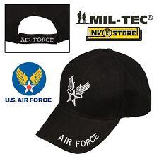 CAPPELLO BERRETTO MIL-TEC LOGO AIR FORCE USAF ARMY MILITARE SOFTAIR BASEBALL 806d2a25848c