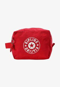 Kipling Parac Large Toiletry Bag Wash Bag Make Up Case - Lively Red