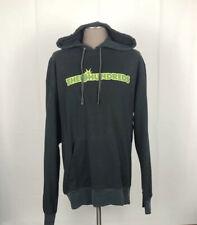 The Hundreds Long Sleeve Hooded Sweater Mens XXL Black Big Logo Street Wear E40