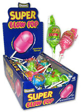 CHARMS SUPER BLOW POPS Suckers Candy Pop Bulk Lollipops 24 ASSORTED FLAVORS
