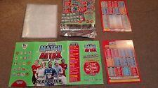 MATCH Attax 2010/11 raccoglitore/Play Pitch Statere Pack Premiership Schede non incluso