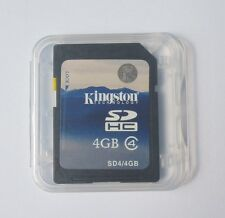 Kingston 4GB SD Class4 Secure Digital Memory Flash Card C4 SDC4 4G f/ Camera GPS