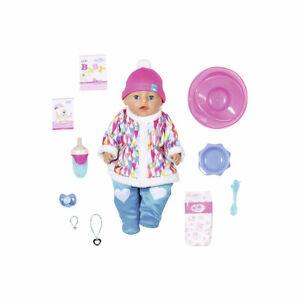 Zapf Creation Baby Born Soft Touch Wintertime Puppe mit Zubehör 43 cm R7V