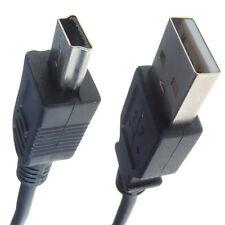 De datos USB Sync transferencia imagen Lead Cable para Sony Handycam Dcr-sr52