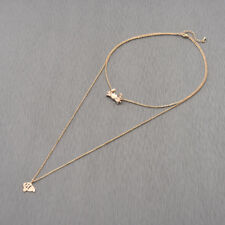 Silver Animal Long Tassel Fish Crab Choker Necklace Women Accessories Jewelry