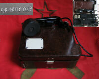 Original Field Telephone TA-57  USSR Vintage Soviet Russian Army