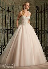 bf5ebab912 Mori Lee Wedding Dress Style 2716 Size 8 Ivory/caramel and Silver New!