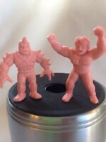 Vintage Kinnikuman m.u.s.c.l.e. action figure Flesh Lot A 207 208