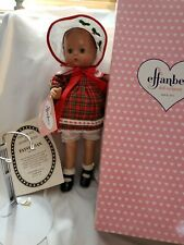 "Effanbee 15"" Christmas Patsy Joan doll All original Classic In Box, W/Stand, Coa"