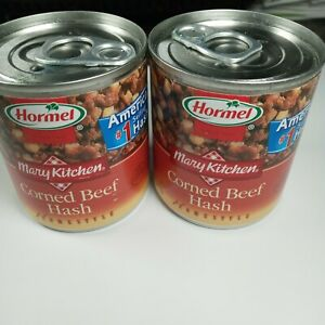 2X Hormel CORNED BEEF Hash Meat By Mary Kitchen 7.5 oz