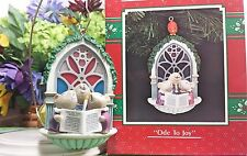 Enesco Ode to Joy ornament Mice singing Choir ornament 1991