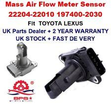 Mass Air Flow meter Sensor 22204-22010 TOYOTA YARIS AVENSIS COROLLA PRIUS RAV4
