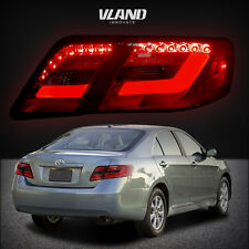LED Tail Lamp For 2007-2009 Toyota Camry Replacement Red/Smoked Lens Rear Lights