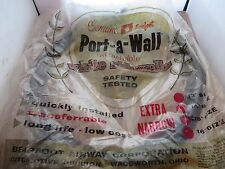 4 Vintage NOS Genuine Bearfoot PORT-A-WALL Attachable SIDEWALLS