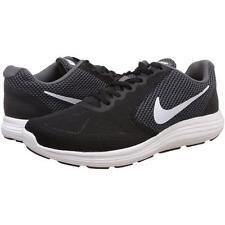 4e0fa65bf07ae NIKE Men s  REVOLUTION 3  Running Shoes Black White Grey ...