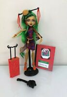 Monster High Travel Scaris JINAFIRE LONG Doll With Accessories Complete EUC