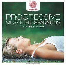 ENTSPANNTSEIN - PROGRESSIVE MUSKELENTSPANNUNG NACH JACOBSON CD NEU