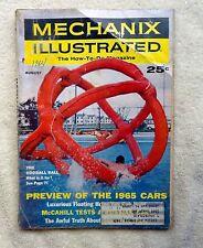 MECHANIX ILLUSTRATED MAGAZINE Back Issue AUGUST 1964