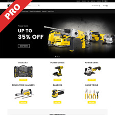 ELECTRIC TOOLS STORE | Turnkey Dropshipping Website | Ready-To-Go Business