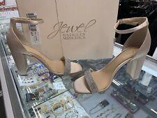 Jewel Badgley Mischka Keshia lll Rose Gold Evening Sandals; Size: 6M