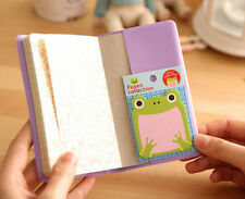 4PCS post it tabs sticky notes memo korean bookmark office supplies random