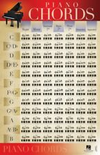 Piano Chords Poster 22x34 - Piano Instruction New 000289243