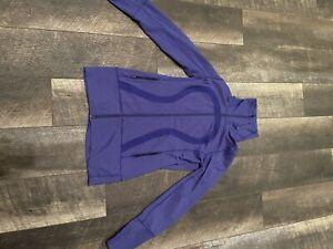 Lululemon Mock Neck Jacket Size 8