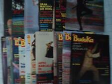 Budoka Lote de 16 revistas Artes Marciales El Budoka