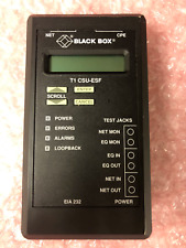BLACK BOX 1147.025L1  - MODEL  MT 141A - EIA 232 T1 CSU-ESF (NO POWER SUPPLY)