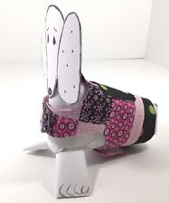 Dog Clothes Harness SZ XXS 2 to 3 LBS Handmade NEW Girl Pink Black w/Polka Dot's