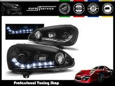 FARI ANTERIORI HEADLIGHTS LPVW99 VW GOLF V DAYLIGHT NERO