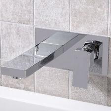 Wall Mounted Bath Mixer Tap ; Chrome Brass  ; Bathroom Filler ; Pressure 1-3 Bar