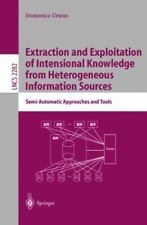 Extraction and Exploitation of Intensional Knowledge from Heterogeneous...