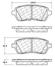 Centric Parts 103.14540 Front Ceramic Brake Pads