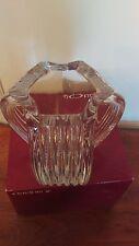 "ORREFORS Sweden Crystal Vase ""Triplet"" by Helen Krantz 5110-22 Art Crystal!"