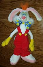 Vintage 1988 Who Framed Roger Rabbit White Stuffed Animal Plush Toy RARE & CLEAN