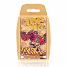Transformers Retro - Celebrating 30 years Top Trumps Card Game